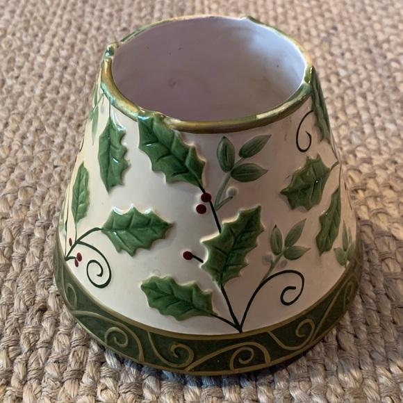 Yankee Candle Christmas Holly Jar Shade Topper